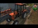 Farming Simulator 15 - Обприскування. ЮМЗ 8040 + ОП-2000.
