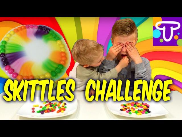 Skittles Челлендж Крутой эксперимент с конфетами Скитлс
