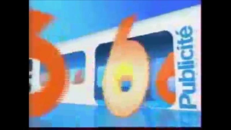 Рекламная заставка M6 Франция 2003 2006 Метрополитен