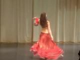 Laiza-belly dancer, tabla ,Moscow 2010