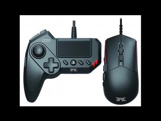 PS4\PS3 - HORI Tactical Assault Commander GRIP (T.A.C. GRIP) GamePad and Mouse Controller Portfolio