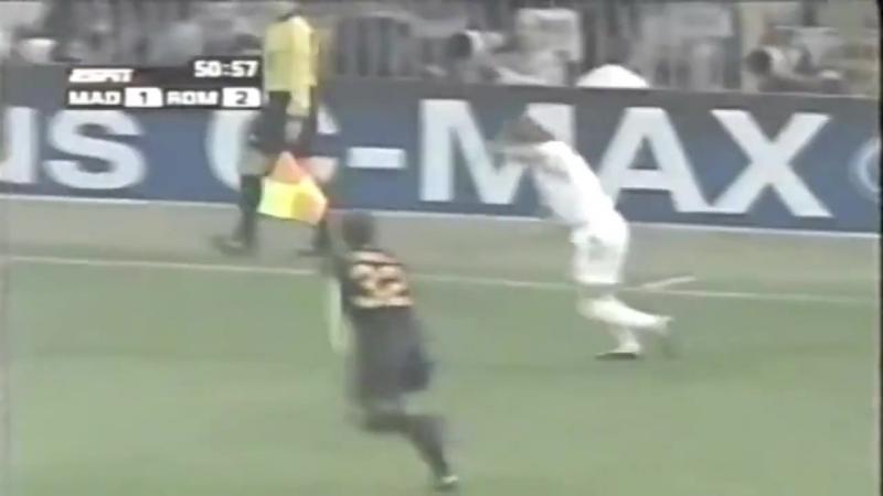 Реал Мадрид Рома Лига Чемпионов 2004 2005 2 тур