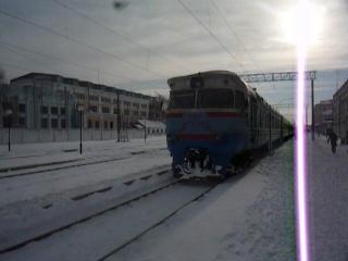 ДР1А-262 Крюків-на Дніпрі-Полтава-Південна відправлення в РПЧ-2 Полтава.