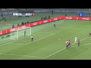 Гол Роналду с пенальти в ворота