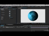 04 02 Creating a flatlook globe animation / After Effects Breakdowns - Social Tech Infographics 2016