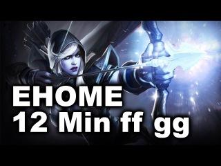 EHOME Tilted 12 Min bo3 gg lose vs VG.R - Nanyang Dota 2