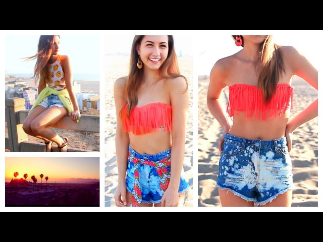 Get Ready With Me ☼ Tumblr Inspired Beach Hair, Makeup, Outfit! | Spring 2014