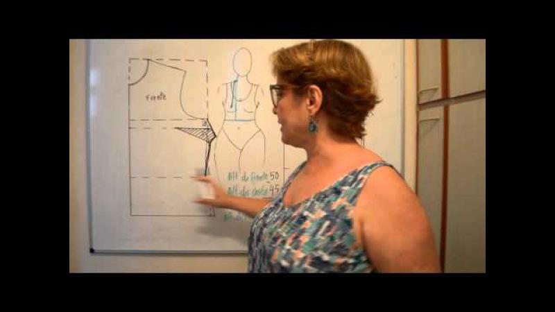 DIY Como calcular a profundidade e comprimento das pences Aula 65