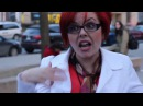 Big Red Feminist Argues (and Annoys) People on the Street