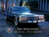 Реклама 1986 Cadillac Fleetwood Brougham