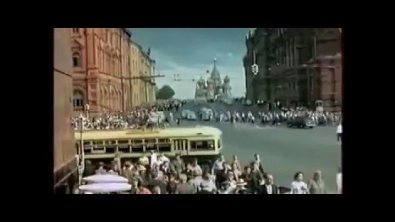Москва в цвете №17 (закл). Конец 1950-х начало 1960-х Забытые детали прошлой жизни ...