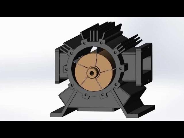 Шиберные лопастные компрессоры