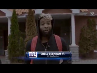 Odell Beckham Jr as he arrives for the first start of the Offseason Training WorkOut