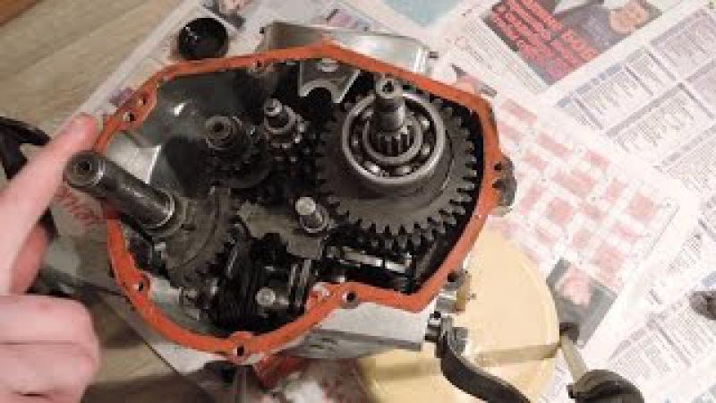 Сборка коробки передач мотоцикла Днепр ( КПП МТ)