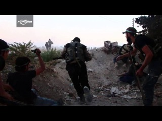 Islam Army | Witness the moment the infiltration of fighters and broke into a points-Assad in the town of Madani in the Eastern Ghouta