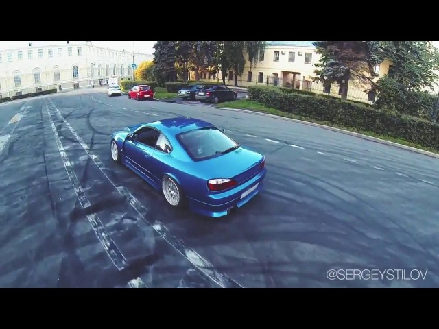 GT-R vs Silvia 💪 Street Drifting in Saint-Petersburg v2