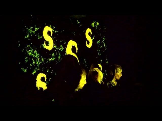 SWIS, live visuals Ultravisual Gang VJ's