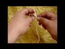 Узор спицами Гусиные лапки - мастер-класс