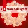 Тайские гирлянды и фонарики CottonBallLights