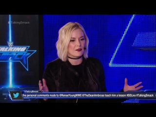 Talking Smack: Renee Young addresses Miz's actions on SmackDown Live