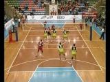 03.12.2008. Волейбол. Чемпионат России 2008/2009. Мужчины. Локомотив (Новосибирск) - Факел