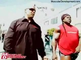 2012 Kai Greene With Shawn Ray Strolling Down Venice Boardwalk At Muscle Beach !!!