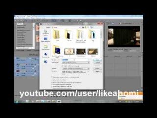 Как сохранить видео в формате avi sony vegas pro 9.0 8.0 10.0