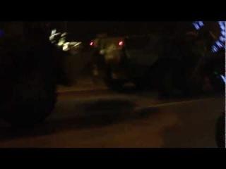 - Авария с танками на мкаде
