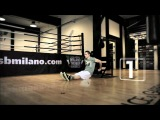 Fitness training with Milano Thunder Boxing Team: Push on up!
