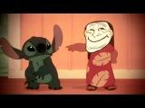 Лило и стич - троллила меня! \ Lilo And stich - Trollz me!