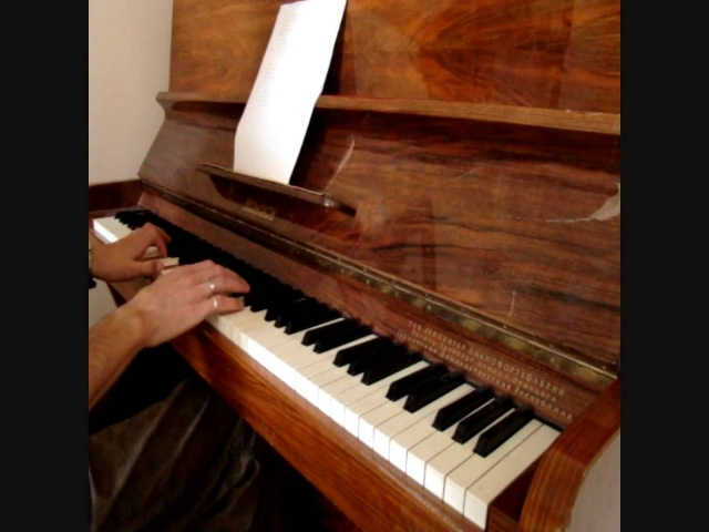 DJ Smash - Я волна piano cover