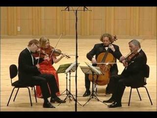 American String Quartet - Shostakovich String Quartet No. 3 - 3rd Mvmt, Allegro non troppo