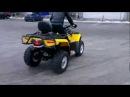 Сool drift on Quad - Крутой дрифт на квадроцикле