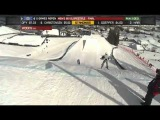 X Games Aspen 2013 James Woods Mens Run 3 Ski Slopestyle Final