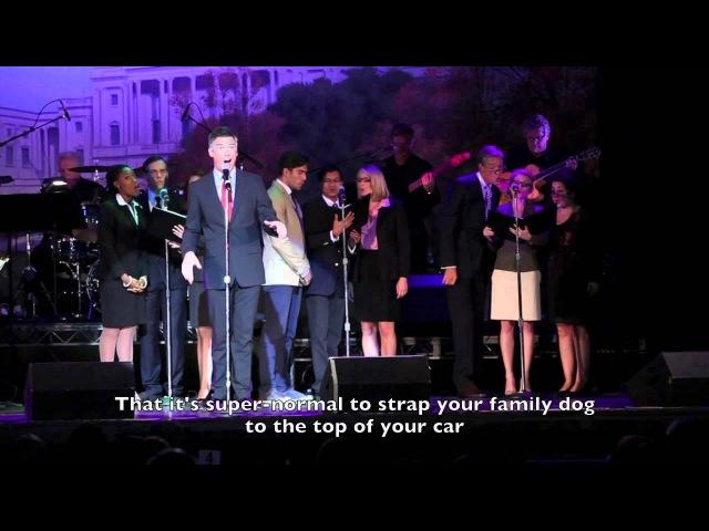 Barrett Foa as Mitt Romney sings I BELIEVE (Spoof)