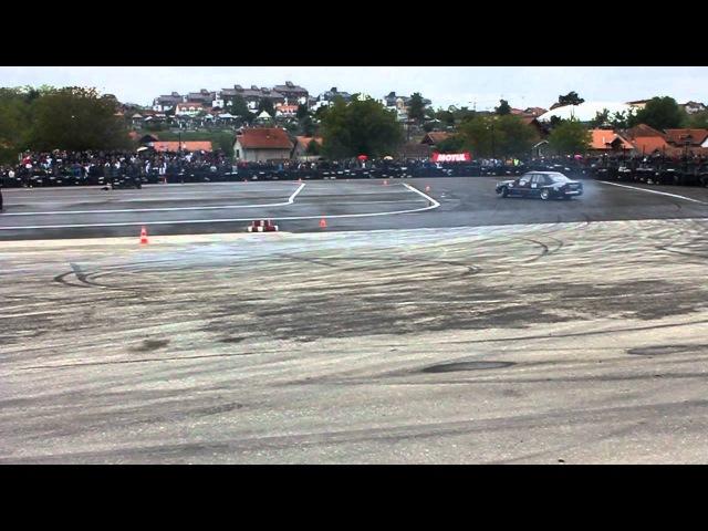 Szabo Szilard - Mercedes E500 W124 - Qualifications - KOE King of Europe 2011 Kragujevac Serbia