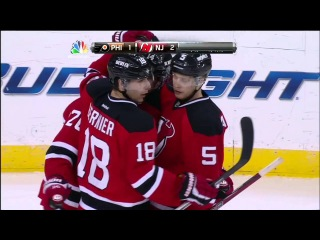 Three-Goal First Period Ignites Devils Past Flyers