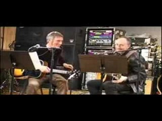 Pete Townshend rehearses with Paul Weller