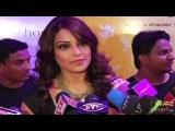 HOT Bipasha Basu in Mallu Style Saree at English Vinglish Premiere