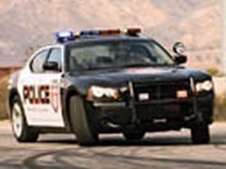 Miata vs. Charger Police Car - Hot Pursuit!