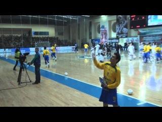Матч сборных России и Бразилии по мини-футболу (Тюмень)