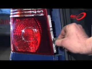 Задняя оптика Dectane на VW Touran 2003+