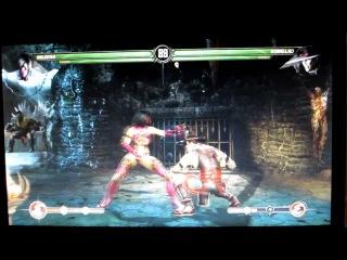 Экранка летсплея Mortal kombat от Gerki