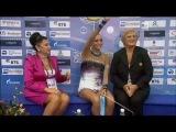 Evgenia Kanaeva 2010 Moscow World Champ AA ribbon