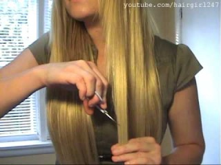 Волосы на заколках.архангельск