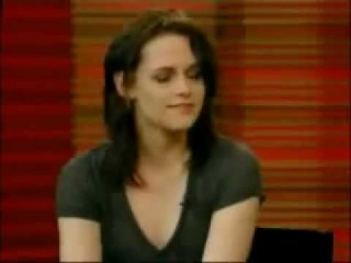 Kristen Stewart On Regis & Kelly Show- 16th March