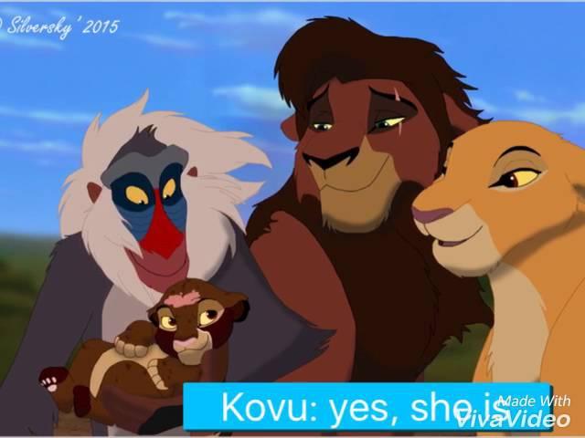 Kovu and Kiara's Region part:1 Introducing The Cubs