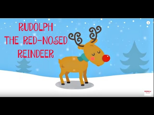 Rudolph The Red Nosed Reindeer   Christmas Songs for Kids   Reindeer Song   The Kiboomers