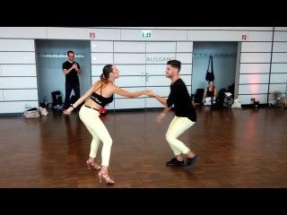 Luis y Andrea @ Frankfurt Summer 2016 Advanced