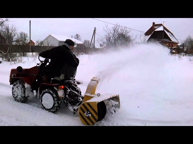 Belarus MTZ 132H Снегоочиститель СН 1
